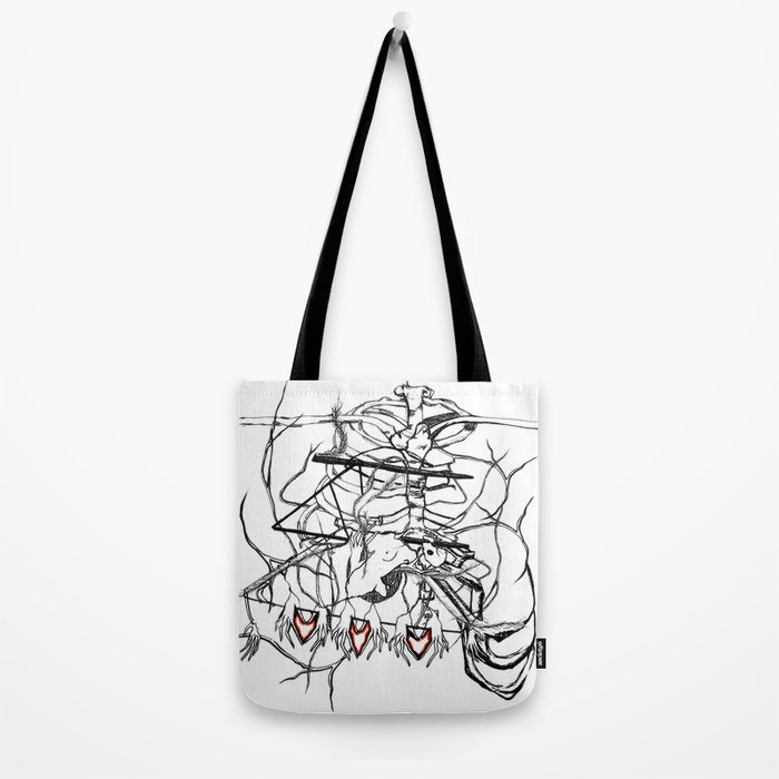 Ribs for Valentine's Day Tote Bag