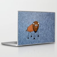 buffalo Laptop & iPad Skins featuring buffalo by Paul Simms