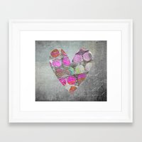 passion Framed Art Prints featuring Passion    by LebensART