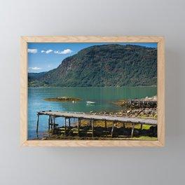 Ornes farm Framed Mini Art Print