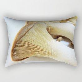 King Mushroom up close Rectangular Pillow