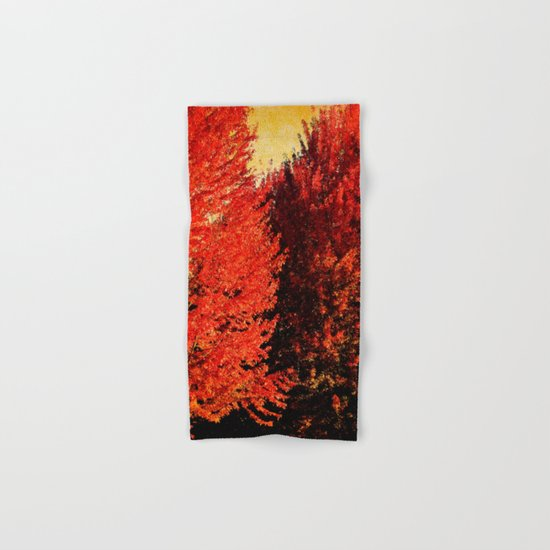 FALL IS HERE Hand & Bath Towel