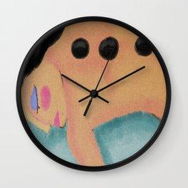 Hot Stone Massage Abstract Digital Painting  Wall Clock