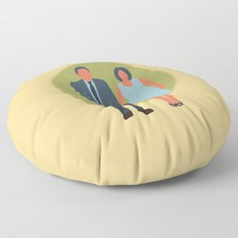 Save the Date - The Couple - Love Floor Pillow