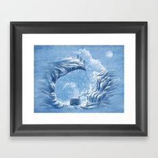 Snow Bunny Framed Art Print