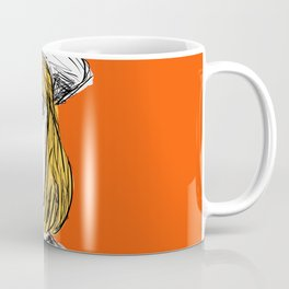Pauline on Orange Coffee Mug