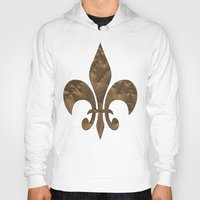 renaissance Hoodies featuring Renaissance Brown by Charma Rose