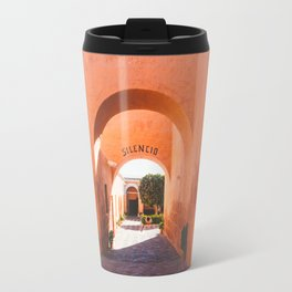 Silencio at the Santa Catalina Monastery, Arequipa, Peru Travel Mug