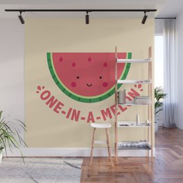 One in a Melon (Watermelon) Wall Mural