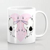 unicorn Mugs featuring UNICORN *:・゚✧ by lOll3