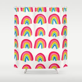 Rainbow Collection – Classic Palette Shower Curtain