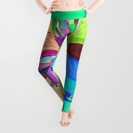 Colors of the World - Flower Leggings