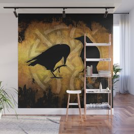 Huginn & Muninn - Odins ravens Wall Mural