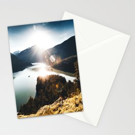 lake at washington state Stationery Cards