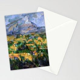 Paul Cézanne - Mont Sainte-Victoire - La Montagne Sainte-Victoire Stationery Cards