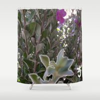 plant Shower Curtains featuring Plant by ANoelleJay