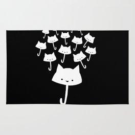 minima - cat rain Rug