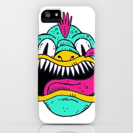 Monster Dragon Face iPhone Case