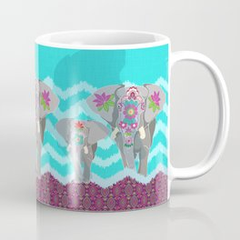 Elephant Festival Coffee Mug