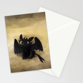 Baby Toothless Stationery Cards