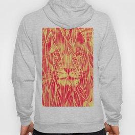 Vintage Bamboo Lion Print Hoody
