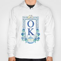 kim sy ok Hoodies featuring OK by RachelRogers
