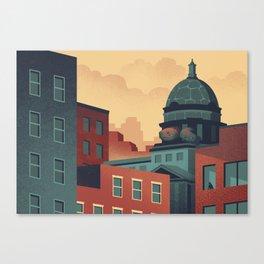 Urban Wildlife - Turtle Canvas Print