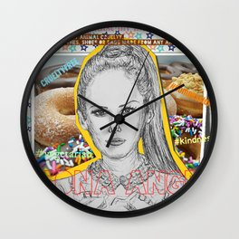 (Angel - Leona Lewis) - yks by ofs珊 Wall Clock