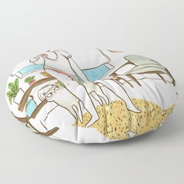 Duckface Floor Pillow