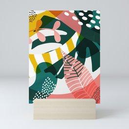 Pink jungle Mini Art Print