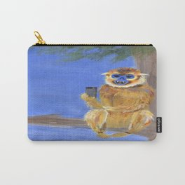 Sammy the Snub Nosed Golden Monkey Carry-All Pouch