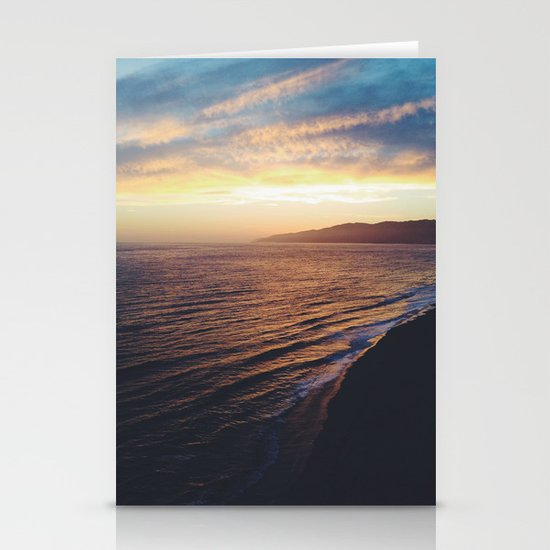 Point Dume Sunset Stationery Cards