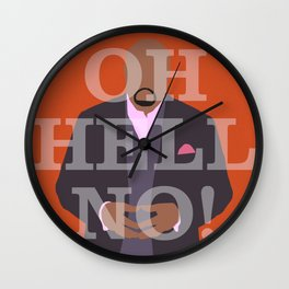 Pushing Daisies - Emerson Wall Clock