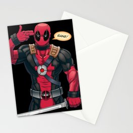 The Merc With a Mouth Stationery Cards