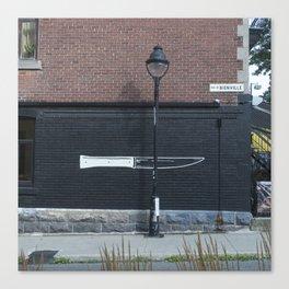 Rue de Bienville Canvas Print