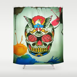 TJ Johnson Memorial Tattoo Piece Shower Curtain