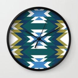 Patchwork II Wall Clock