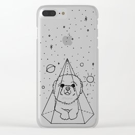 Shih Tzu Galaxy Clear iPhone Case