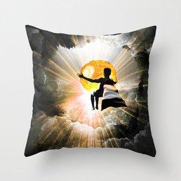 Bringer Of Light Throw Pillow