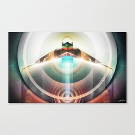 ∆  conscious flight Canvas Print