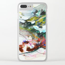 Day 84: In most cases reflecting on things in a cosmic context reveals triviality. Clear iPhone Case