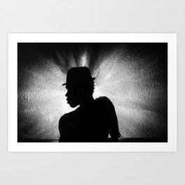 Real shadows Art Print