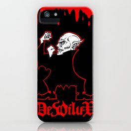 FIGHTIN' FERATU iPhone Case