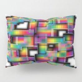 Puzzled Plaid Pillow Sham