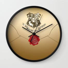 Hogwarts Envelope Wall Clock
