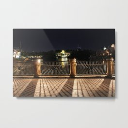 Universal Studios - Night Shadows Metal Print