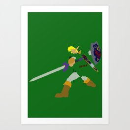 Ready for Action Art Print