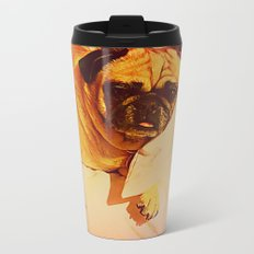 PUG LOVE: Will you bring me breakfast in bed? Travel Mug