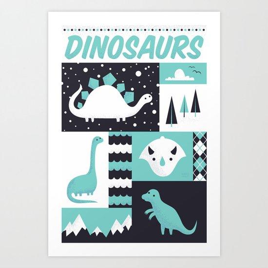 Prehistoric Art Print