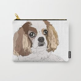 Blenheim cavalier king charles spaniel dog Carry-All Pouch